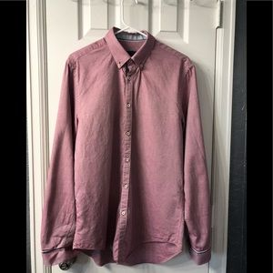 Zara two toned long sleeve button up